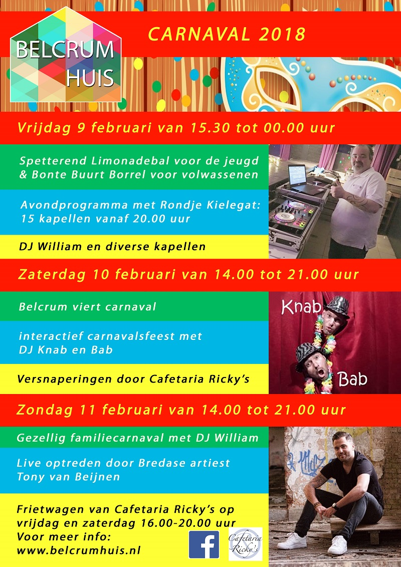 Carnaval 2018 Belcrumhuis