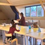 Vette kinderkunst in Belcrumhuis