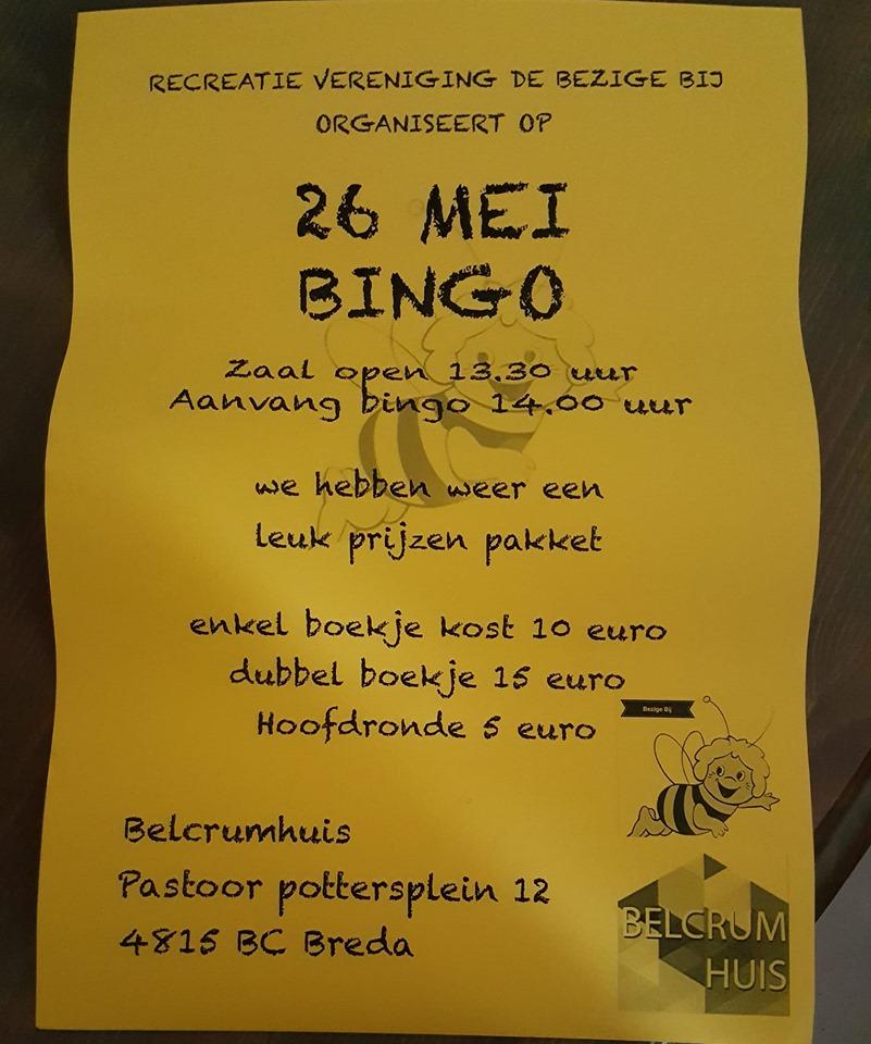 Bingo in Belcrumhuis